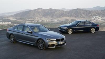 2017 BMW 5 Series Revealed Overseas