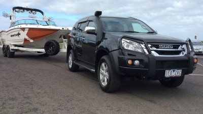 2016 Isuzu MU-X 4x4 LS-T REVIEW - Built For Work; Towing Just Part Of The Story