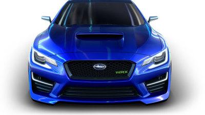 WRX Concept To Star In Subaru Australia Dealership Shows