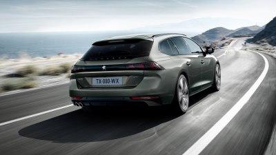 New Peugeot 508 wagon revealed