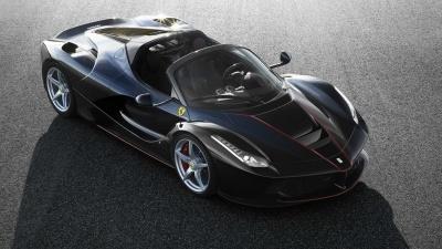 Ferrari LaFerrari Sypder Previewed In Official Pics Ahead Of Paris Motor Show Debut