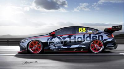 Holden's 2018 Supercars Concept Rubs Salt Into Rear Wheel Drive Wounds