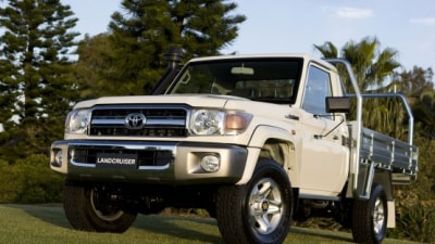 2010 Toyota Landcruiser 70 Series Range Gets New Safety Kit, Extra Features