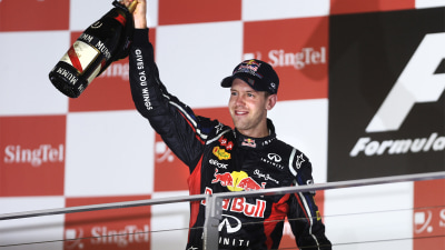 2012 Singapore F1 GP: Vettel Grinds Out Win, Alonso Holds Onto Series Lead