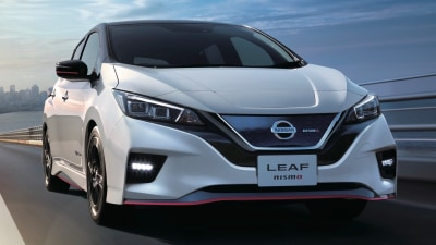 Nissan reveals electric Leaf Nismo
