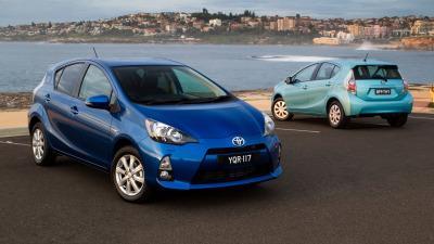 Toyota Prius C On Sale In Australia