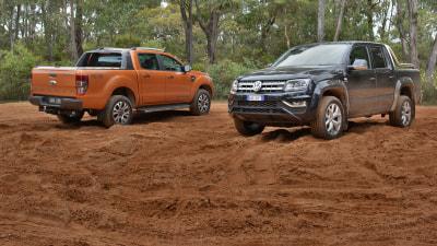 Top Ute War - Ford Ranger v Volkswagen Amarok V6 Comparison Test