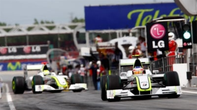 F1: Button On Pole For Spanish Grand Prix