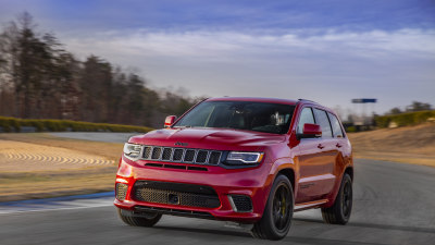 2018 Jeep Grand Cherokee Trackhawk - Australian Pricing And Details Revealed
