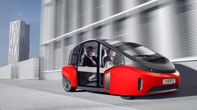 Rinspeed Unveils Autonomous Urban Runabout