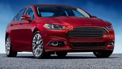 2013 Ford Mondeo Surfaces Again