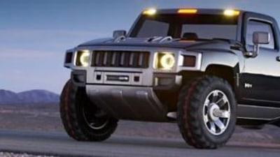 Hummer H3T Ute set for production