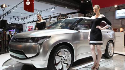 Mitsubishi PX-MiEV Shown In Melbourne, Previews New Outlander