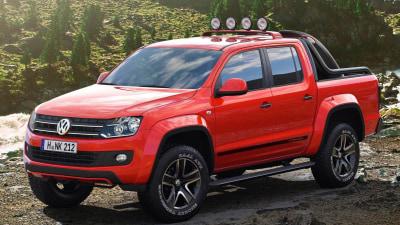 Volkswagen Amarok Canyon Concept Climbs Geneva