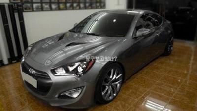 Hyundai Genesis Coupe Update Spied Again