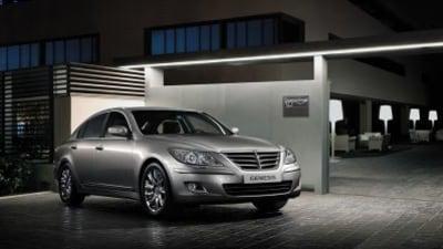 Hyundai Genesis Awarded North America's 'Car of the Year'