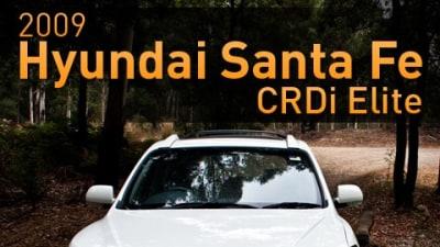 2009 Hyundai Santa Fe CRDi Elite Road Test Review