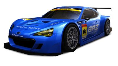 Subaru BRZ GT300 Racer Revealed