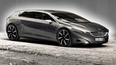 Peugeot 608 Previewed By HX1 Concept: Report