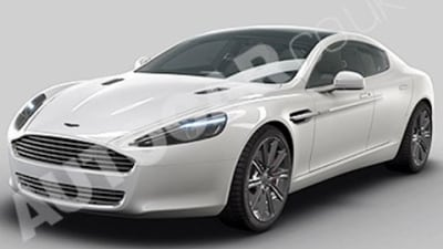 First Images Of Production Aston Martin Rapide?