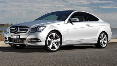 2012 Mercedes-Benz C-Class Coupe On Sale In Australia