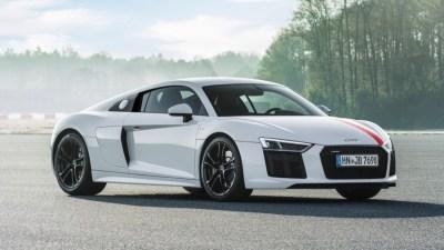 Audi Announces Rear-Wheel Drive R8