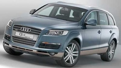 Audi Hybrid Q7 – on sale in late 2008