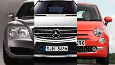 Recall Roll Call - Fiat 500, Bentley Continental, Mercedes-Benz ML And GL