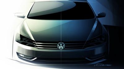 2011 Volkswagen 'NMS' New Medium Sedan Artwork Released