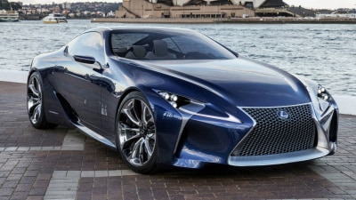 Lexus LF-LC Concept Goes Blue For AIMS
