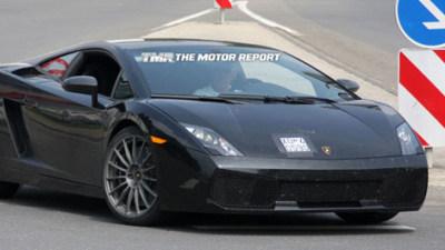 2010 Lamborghini Gallardo LP550-2 Spied During Testing