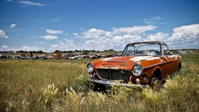 Gallery Of Abandoned, Rusted Out Husks That Were Once Exotic And Classic Cars But Now Serve Only To Make Grown Men Cry