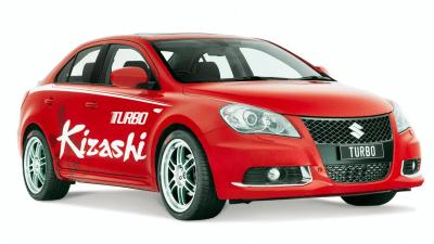 Suzuki Kizashi Turbo Concept Unveiled At Australian International Motor Show