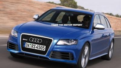 Audi RS 4, TT RS Plus Heading To Geneva Motor Show: Report