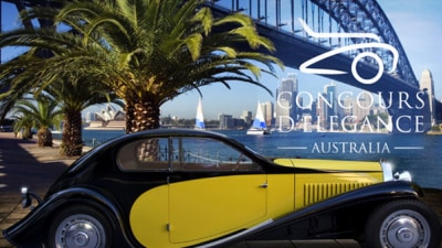 Australia To Get Its Own Pebble Beach-style Concours d'Elegance in 2010