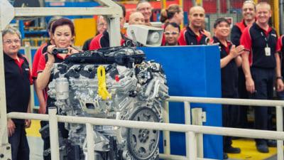 Final Holden V6 Rolls Off The Production Line In Melbourne