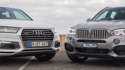 2018 Audi Q7 e-tron v BMW X5 xDrive40e head-to-head comparison