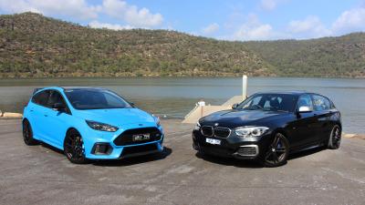 Ford Focus RS LE v BMW M140i comparison review