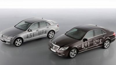 Mercedes-Benz Debuts More Fuel-Efficient C220 CDI, E250 CDI