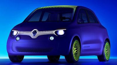 Renault Twin'z Concept Previews New Twingo City Car