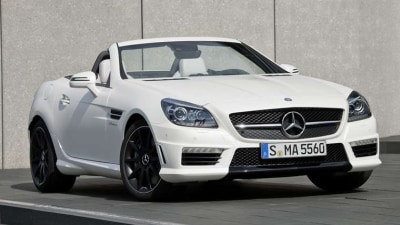 2012 Mercedes-Benz SLK 55 AMG Revealed