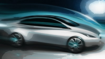 Infiniti Electric Vehicle Teased, Launching In 2013