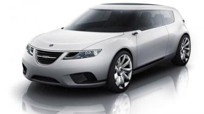 Saab 9-X BioHybrid concept at Geneva