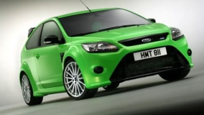 2009 Ford Focus RS Orders Heat Up
