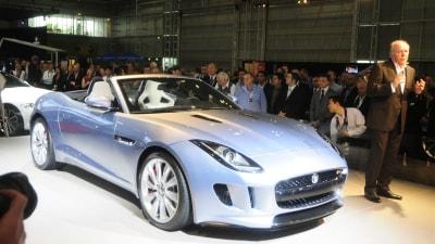 Jaguar F-Type Makes Australian Debut At Sydney Motor Show