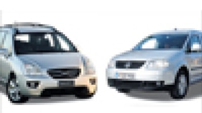 Head to Head: Kia Rondo7 CV v Volkswagen Caddy Maxi Life