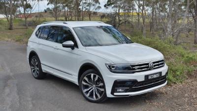 Volkswagen Tiguan Allspace 162TSI R-Line 2018 new car review