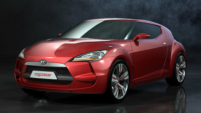 2011 Hyundai Veloster Or Tiburon Coupe Confirmed