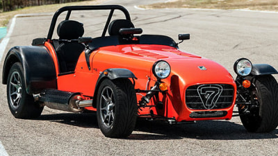 Caterham Seven 485 Now On Sale In Australia, Superlight SV R300 Departs