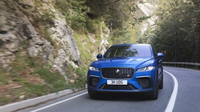Like a scalded cat, Jaguar's supercharged SUV just got faster